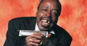 Blues harmonica master Carey Bell